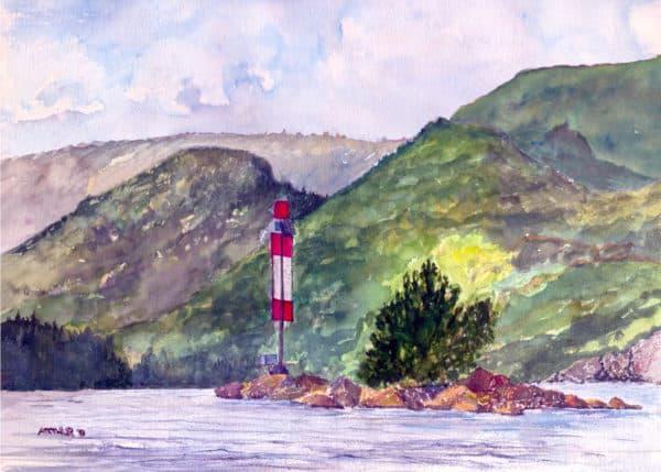 Seagull Rock Lake of Bays Muskoka Ontario circa 1993